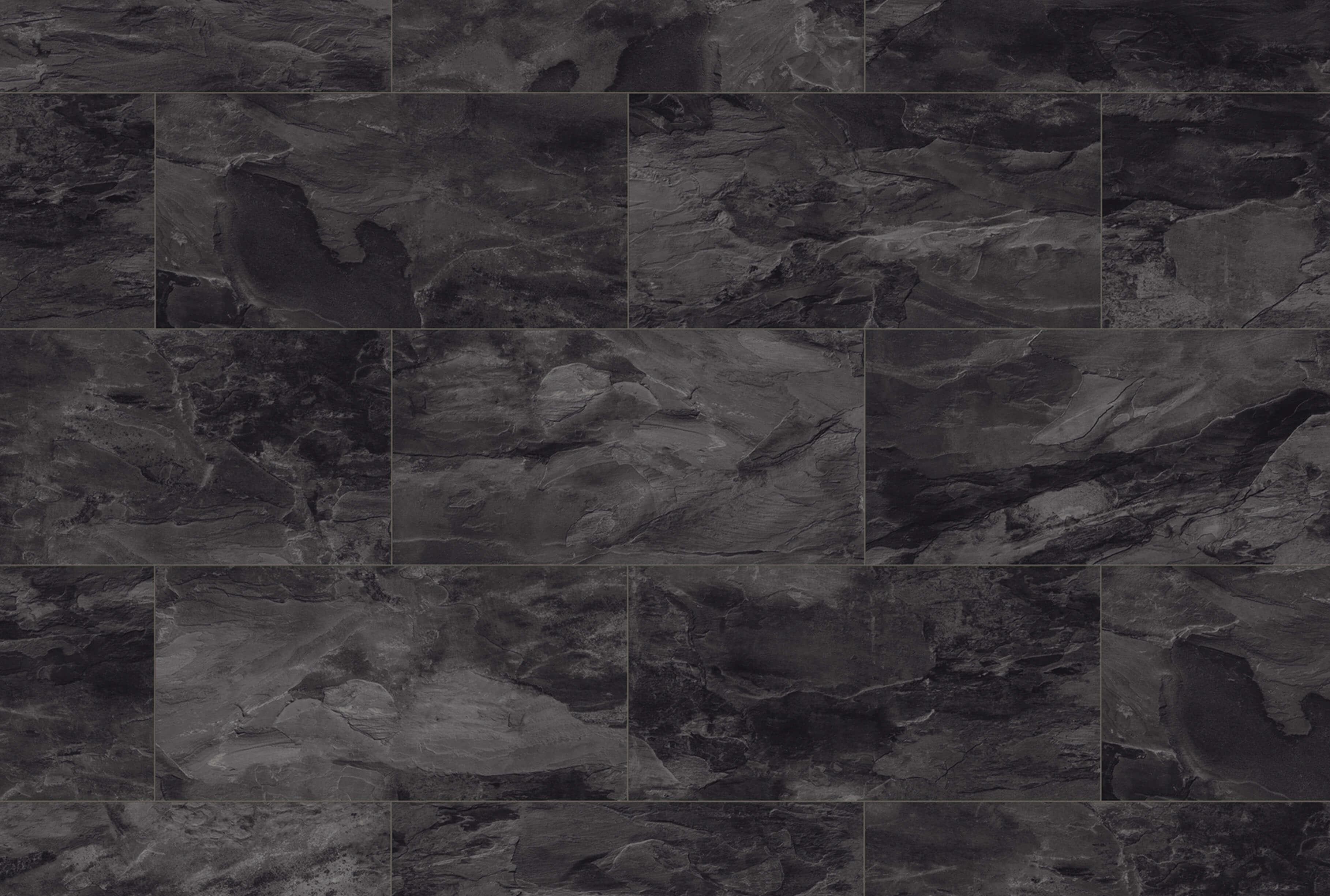 1526 · Yukon Slate<br>Format size: W 327 mm x L 635 mm<br>Struktur: Oiled Slate